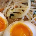 めん王  - 情熱濃厚味噌ラーメンアップ