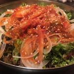 火の鶏 - 韓国サラダ 580円
