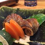54921516 - 新さんま肝醤油焼き