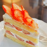 Tea&Cake Grace - イチゴのショートケーキ