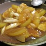せろりや - 冬瓜と麩の虾仔煮込み