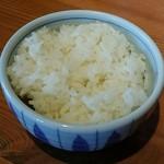 神戸ちぇりー亭 - 白飯