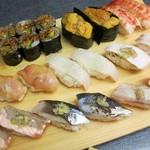 築地玉寿司 - ・「食べ放題ペア(¥8640)」その3。