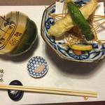 54929910 - 唐土のかき揚げ、海老の天ぷら