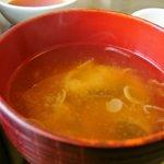酒膳 虎屋 - お味噌汁