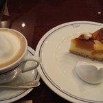 パパス カフェ - かぼちゃのタルト