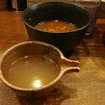 つけめんらぁめん宗庵 - 割りスープ