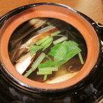 利衛門 - 松茸の土瓶蒸し