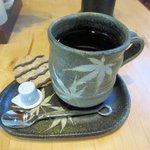 山小屋 佐藤 - ホットコーヒー2016.08.17