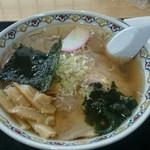 あきばや - チャーシュー麺   750円