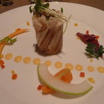 オーベルジュ・ドゥ・ラ・メイジュ - 料理写真:生ハムの一皿