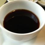 スタート - コーヒーカップに入っているのは・・・出汁♬