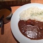 いんでぃら - 「ポーク&カシミールチキン」900円