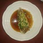 Kourien - 白身魚の揚げ物の特製ネギしょうゆソースがけ