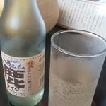 54934627 - 奈良のご当地サイダー                       柿酢風味の鹿サイダー