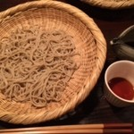 しらかめ - ざる蕎麦
