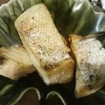 はまなす - 鮭ハラス焼き¥500