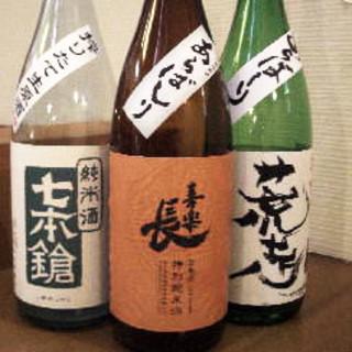 近江の地酒(6銘柄)