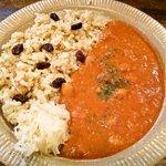 草の実 - ひよこ豆カレー