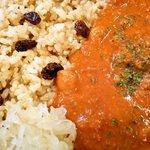 草の実 - ひよこ豆カレーup