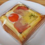 せたパン - 目玉焼きトースト