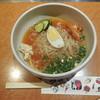 赤から - 料理写真:赤から冷麺ハーフ1辛 ¥390+税