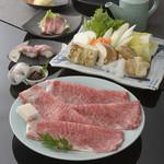特産松阪肉コース 特産松阪肉すきやき『極』