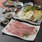 特産松阪肉しゃぶしゃぶコース 特産松阪肉しゃぶしゃぶ『極』