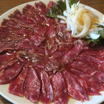 Bistro ひつじや - 201608 ひつじの薄切りレアステーキM 1660円