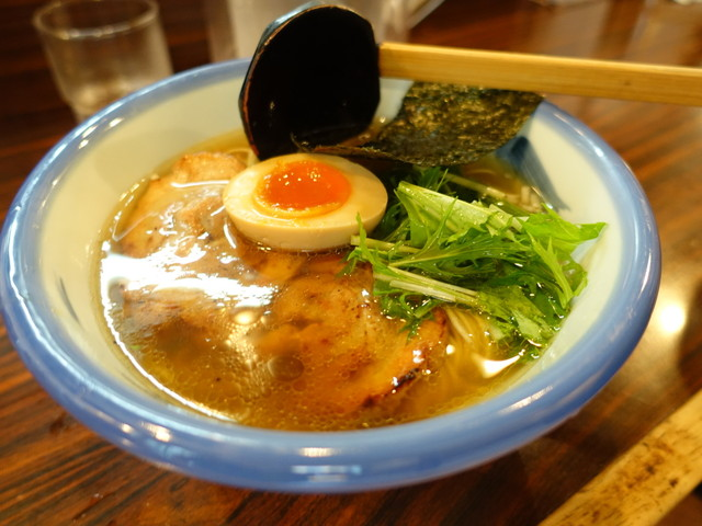 AFURI 恵比寿 - 塩ラーメン、炙りチャーシュー