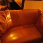 Arfa cafe - 大型ソファー