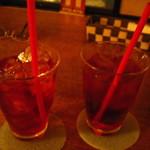 Arfa cafe - クランベリードリンク