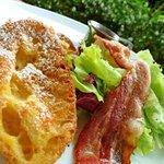 le galet - モーニングセット フレンチトースト ドリンク付 750円
