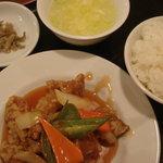 5495355 - 酢豚定食 780円