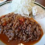 洋食エリーゼ - 2010/10 ビーフトマト