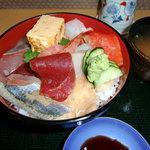 鮨正 本店 - 海鮮丼 アップ