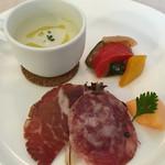 イタリア料理のお店 ラ サラ  - ランチの前菜