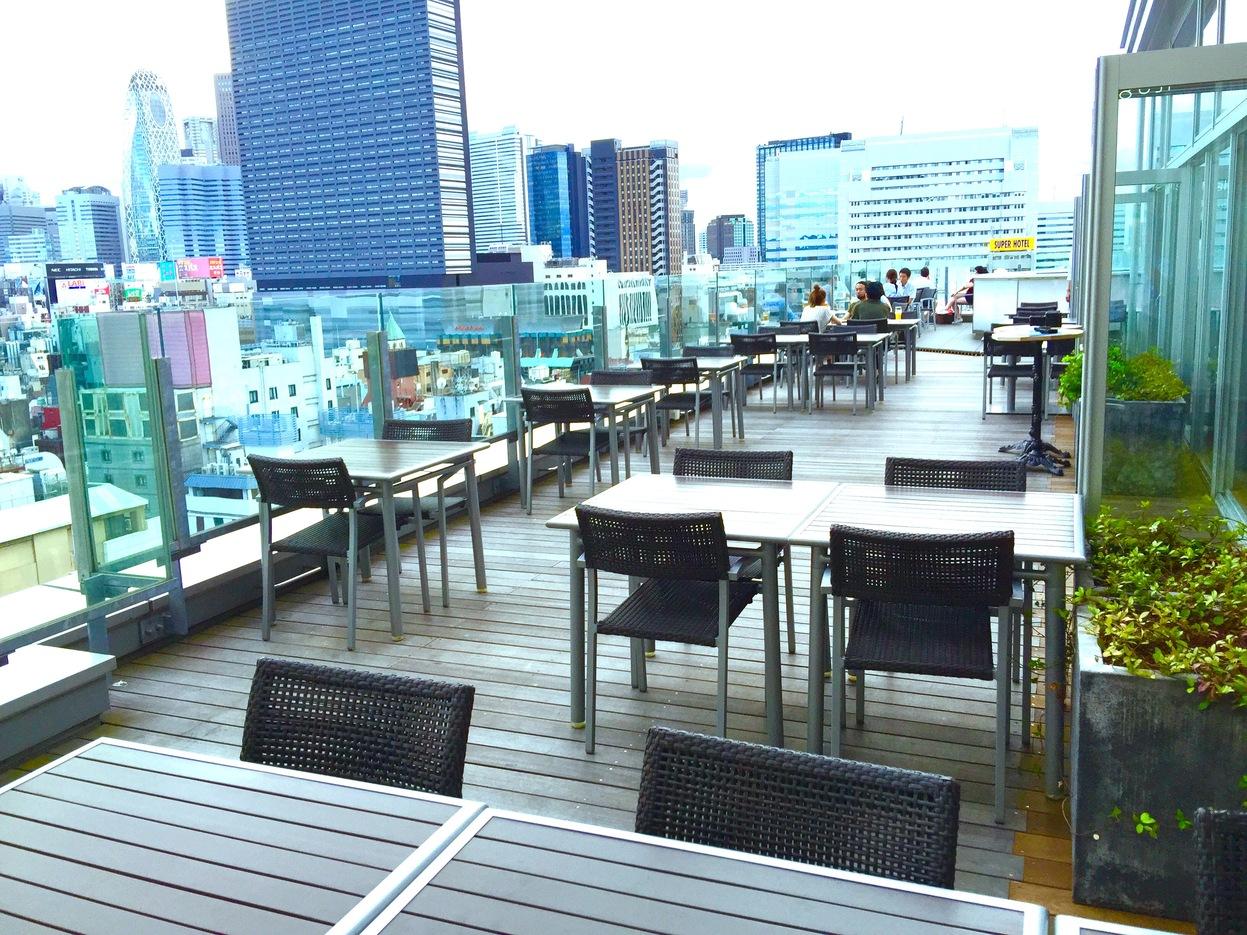 「roof top bar & terrace G(東京都新宿区歌舞伎町2-14-5)」の画像検索結果