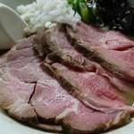 麺処 晴 - 濃厚そば(伊吹九十九里)+チャーシュートッピング 1080円