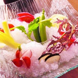 産直、自社農園の有機野菜☆味が濃く力強い味わい