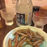 54952228 - 2016年8月。冷酒は菊正宗650円。