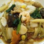 中華レストランだいえん - 料理写真:五目焼きそば 870円