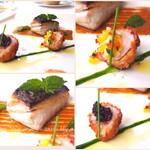 54953449 - お魚料理                       サワラのソテー ミント風味                       オマールフリット