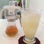 自然食カフェ すぴか - レモンスカッシュ
