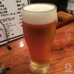 浅草 軍鶏家 - 生ビール