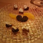Wine Bar Ke Qoo - 2016.07 いぶりがっこチーズ