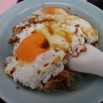 重松飯店 - 焼豚玉子飯 サイズは小