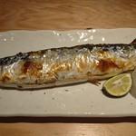 54958477 - 16/08/17                         秋刀魚の塩焼き。初物。