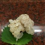明石 菊水 - 鱧の炙り