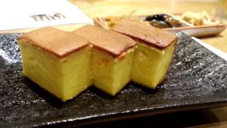 寿司安 - カステラ玉子焼